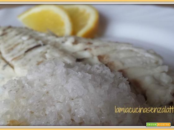 Orata in crosta di sale, ricetta semplice senza lattosio