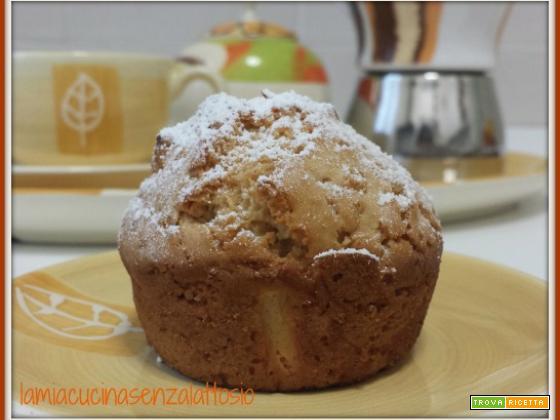 Muffin allo yogurt senza lattosio uova burro