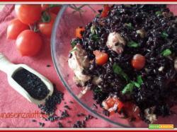 Insalata di riso venere e tonno