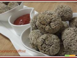 Polpette quinoa e lenticchie al forno  (senza uova)