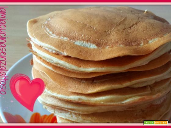 Pancake senza uova senza burro (senza lattosio)