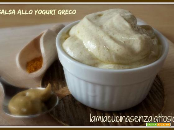 Salsa allo yogurt greco senza lattosio