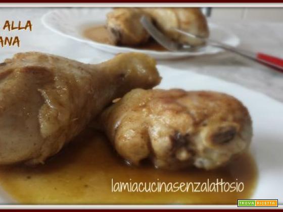 Pollo alla cubana