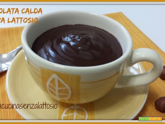 Cioccolata calda senza lattosio fatta in casa