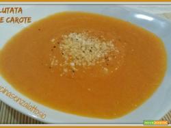 Vellutata zucca e carote senza lattosio – ricetta Bimby