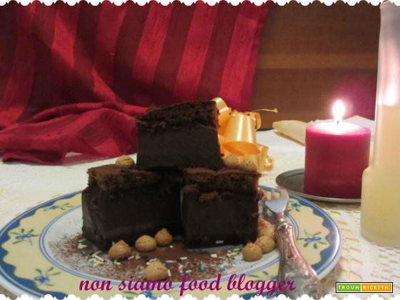 TORTA MAGICA AL CIOCCOLATO E CAFFE (senza burro ma con latte condensato)