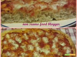 La pizza alta con lievito madre, croccante fuori e morbida dentro