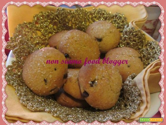 Le pepite a pois, biscotti al farro e ricotta (senza burro)