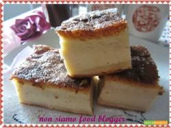 Torta magica senza burro al gusto nocciola