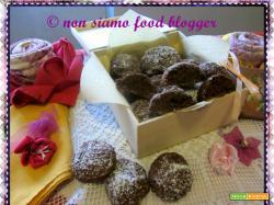 Biscotti al cioccolato senza burro, olio, latte e uova
