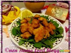 Bocconcini di pollo impanati al forno senza uova, croccanti e sfiziosi come quelli fritti!