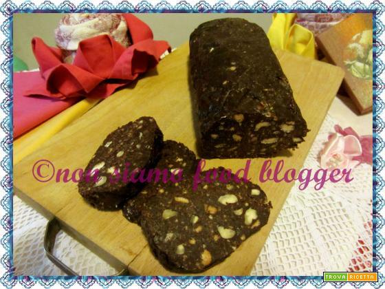 Il salame di cioccolato, la ricetta senza uova