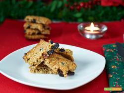 biscotti alle nocciole e mirtilli rossi