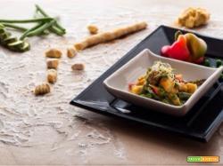 gnocchi al curry con le verdure dell'orto