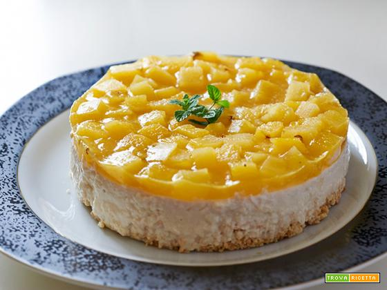 noncheesecake all'ananas