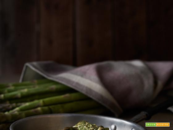 orzo agli asparagi
