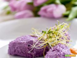 quenelle di cavolo viola