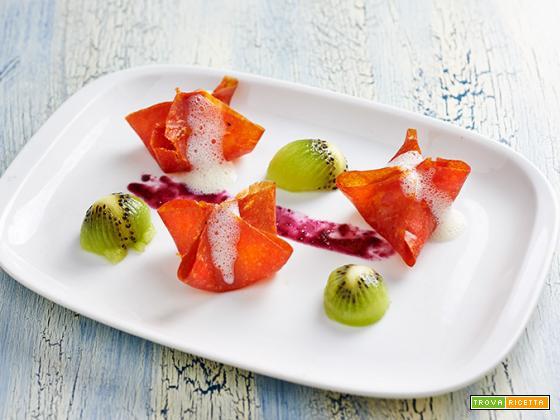 ravioli dolci alla papaia
