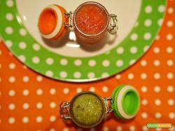 smoothie verde arancio