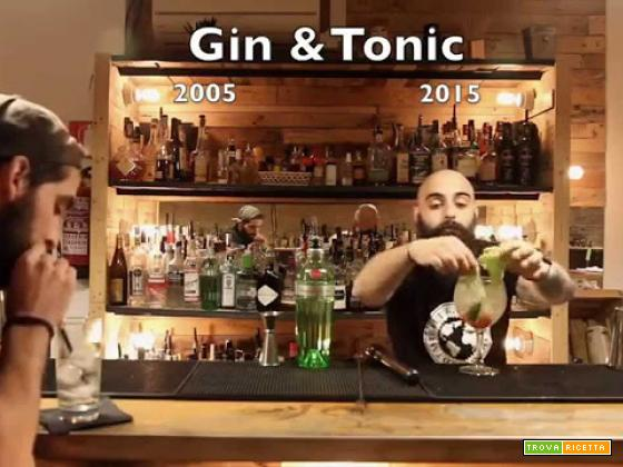 The evolution of Gin Tonic