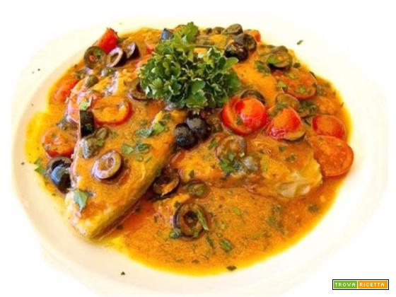 Pesce spada in salsa piccante