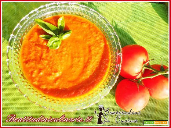Salsa di pomodoro fresco con Bimby