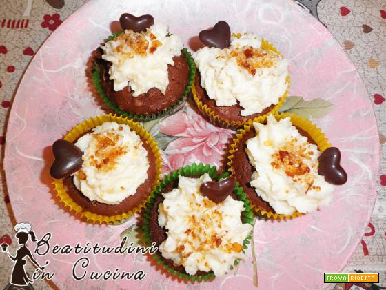 Cupcakes cocco e cioccolato