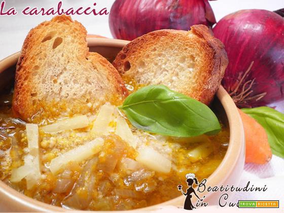 La carabaccia: zuppa di cipolle toscana