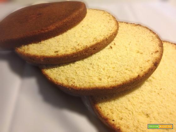 1-2-3-4 Orange Cake