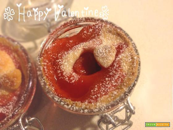 Strawberry Pie nel barattolo