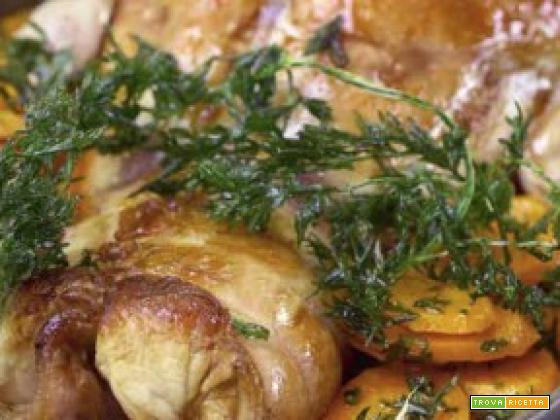 Coniglio olive e carote