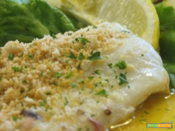 Filetto di merluzzo al pistacchio