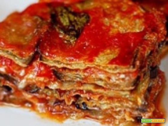Parmigiana di melanzane fritte