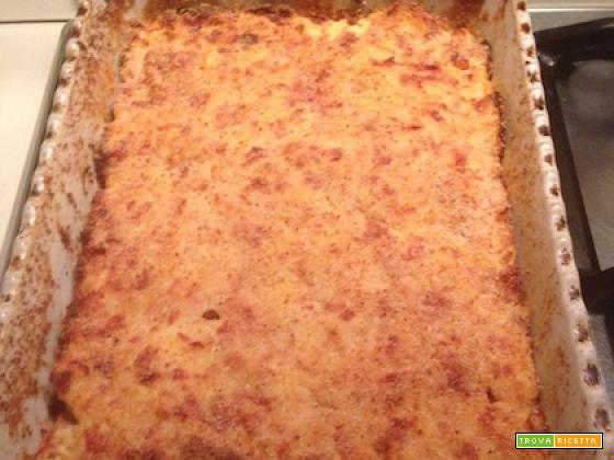 Ricetta pizza di patate o gateau