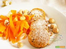 Frollini Vegani e Gluten FREE a base di farina di Carote e Nocciole