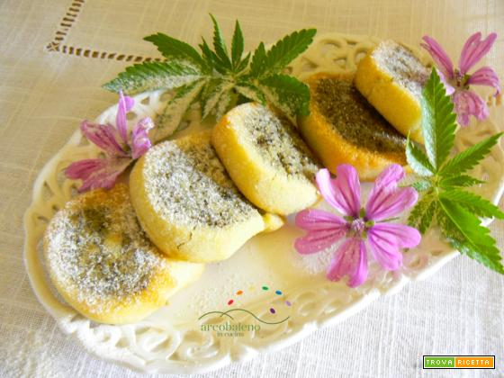 Biscotti GLUTEN FREE VEGANI con Farina di Semi di CANAPA (Sativa)