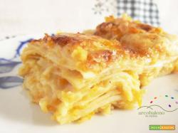 Lasagna Vegetariana con Besciamella Vegana