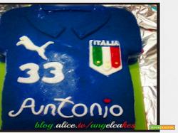 Torta Forza Azzurri