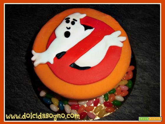Un fantasma per la torta di Halloween...