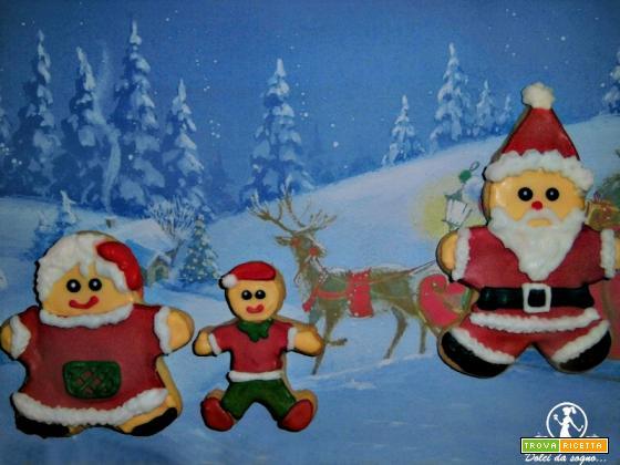 La famiglia di Babbo Natale