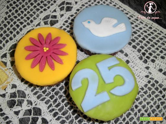 Cupcake per anniversario