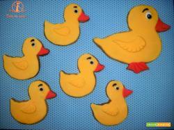 Tenere paperelle di biscotto