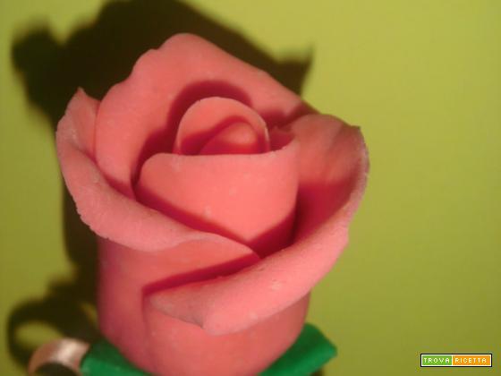 Una rosa di fudge