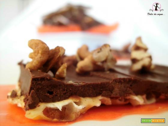 Snack croccanti al cioccolato (ricetta vegana)