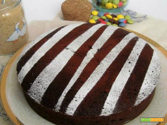 Torta al cioccolato pronta in 15 minuti