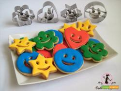 Biscotti allegri per Carnevale