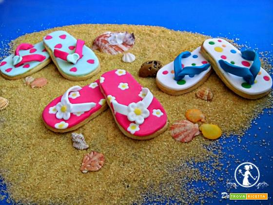 Biscotti infradito o flip-flop