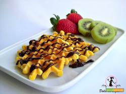 Neole con la frutta