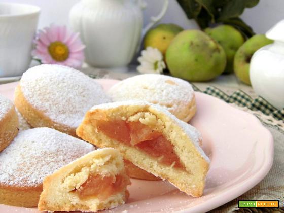 Biscotti di mele cotogne