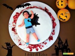 Red velvet cake per halloween!
